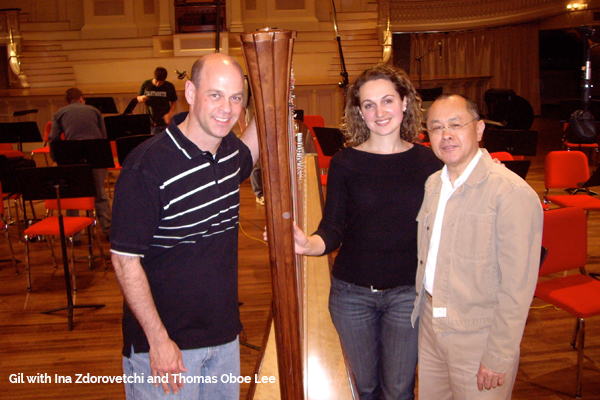 Gil with Ina Zdorovetchi and Thomas Oboe Lee