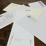 envelopes and stationery