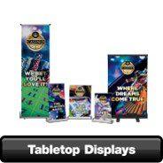 table top displays
