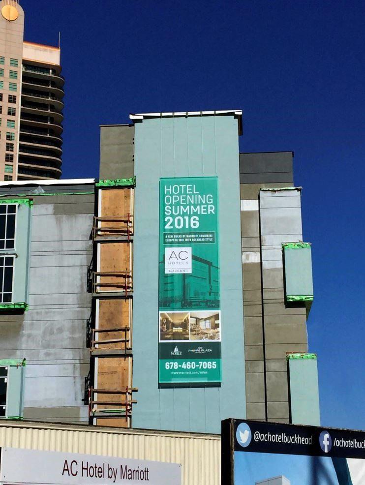 large print banner full color