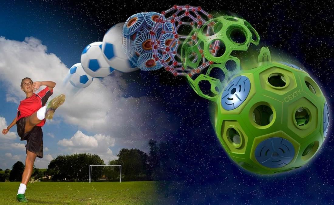 C6XTY Soccer Ball Banner