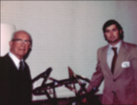 Buckminster Fuller and Sam Lanahan 1979