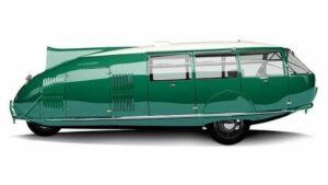 Dymaxion Car side view