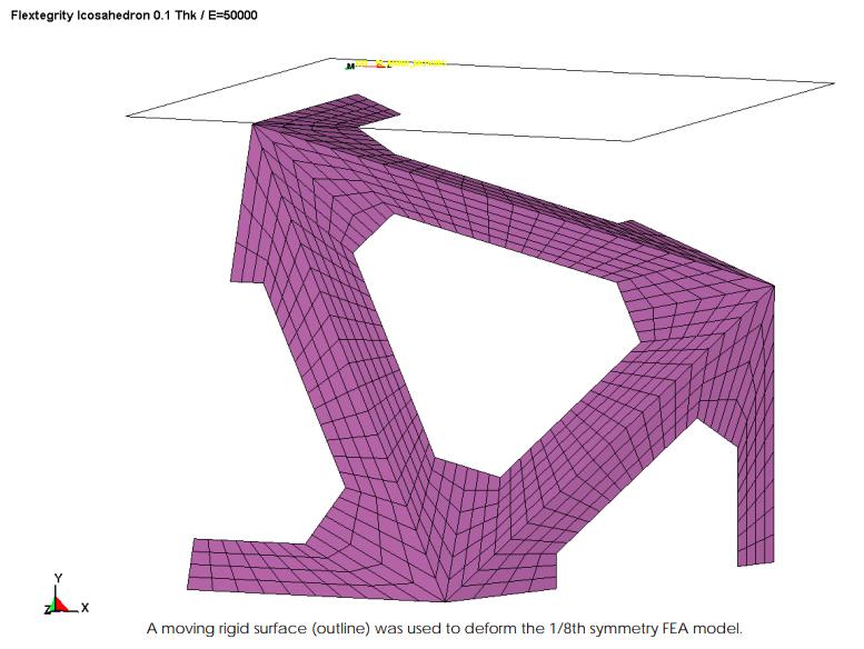 Flextegrity Icosahedron