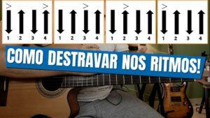 Aula de ritmos no violão | A MELHOR TÉCNICA PARA DESTRAVAR DE VEZ!