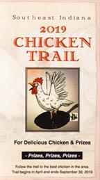 Official 2019 Chicken Trail passport