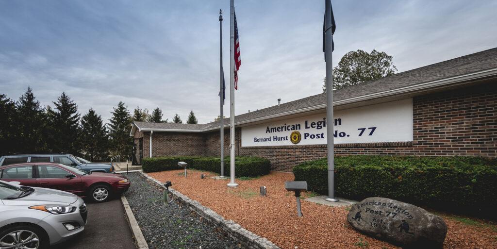 American Legion Post 77 exterior.