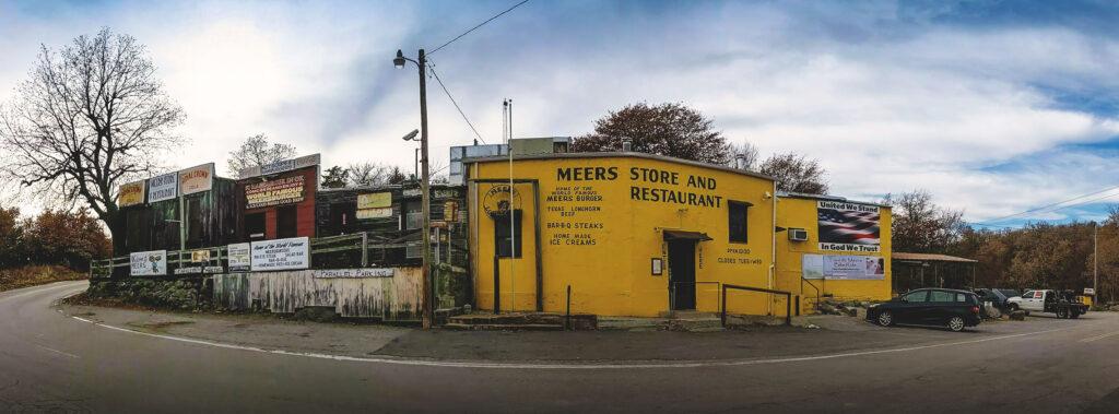 Meers Store and Restaurant near Wichita Mountains Wildlife Refuge in Oklahoma.