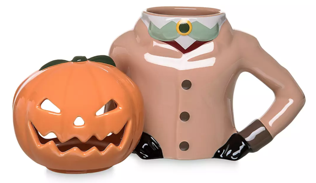 Disney The Headless Horseman candle and mug set