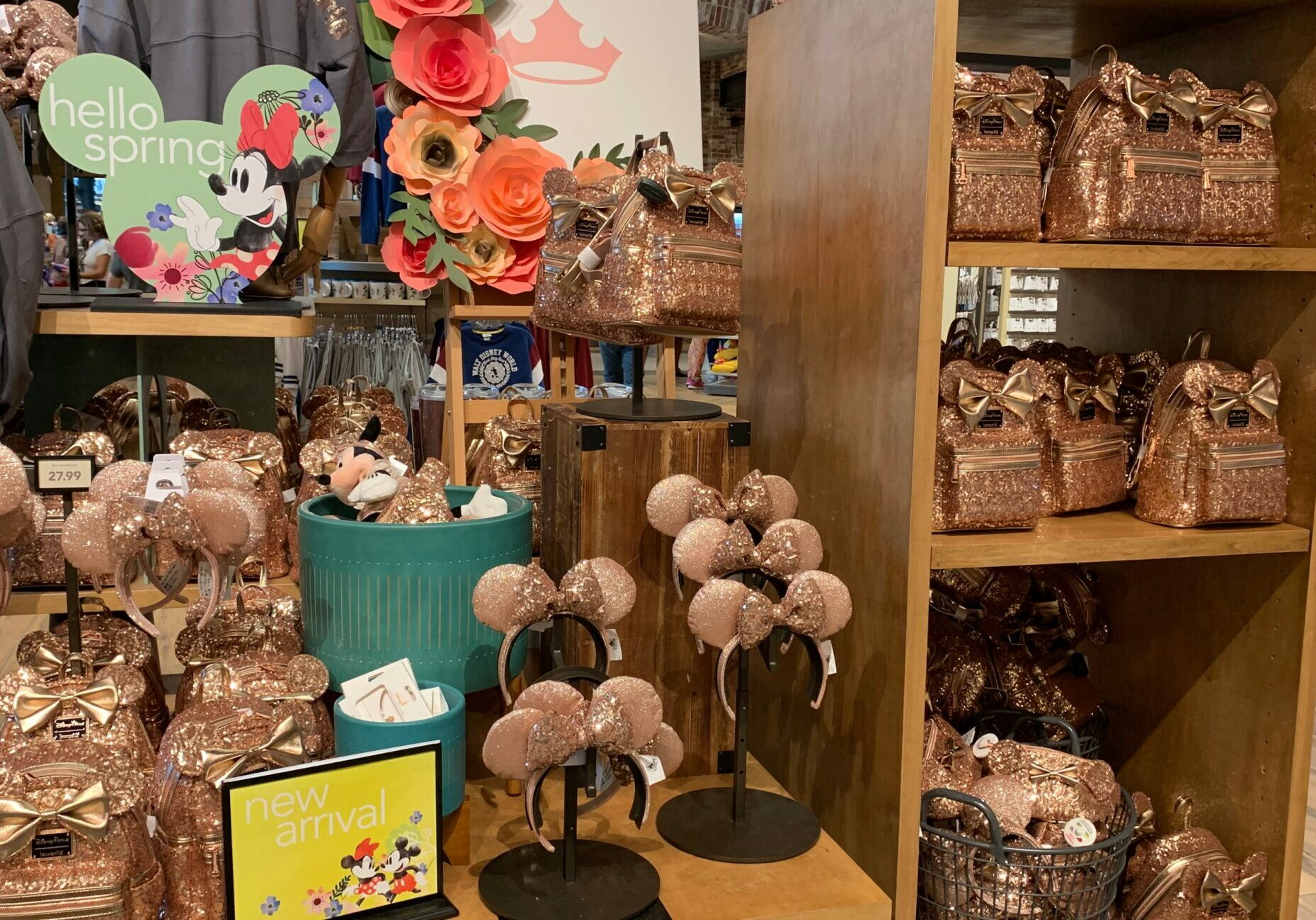 World of Disney Briar Rose Gold Display