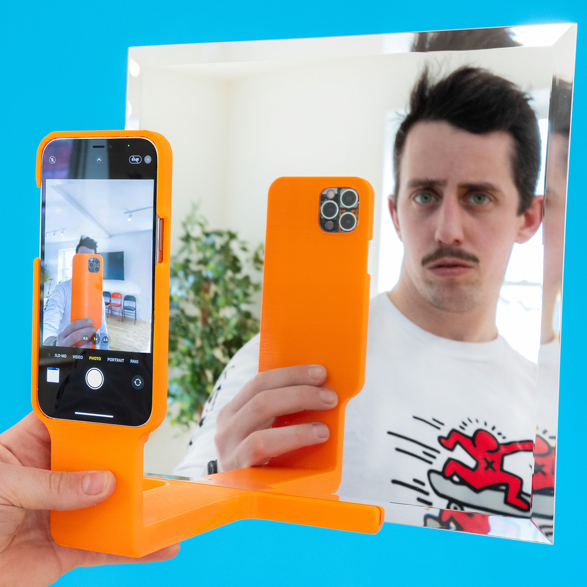 Anytime Selfie System - Unnecessary Inventions