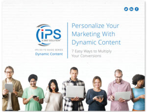 Personalizing Your Marketing with Dynamic Content Image