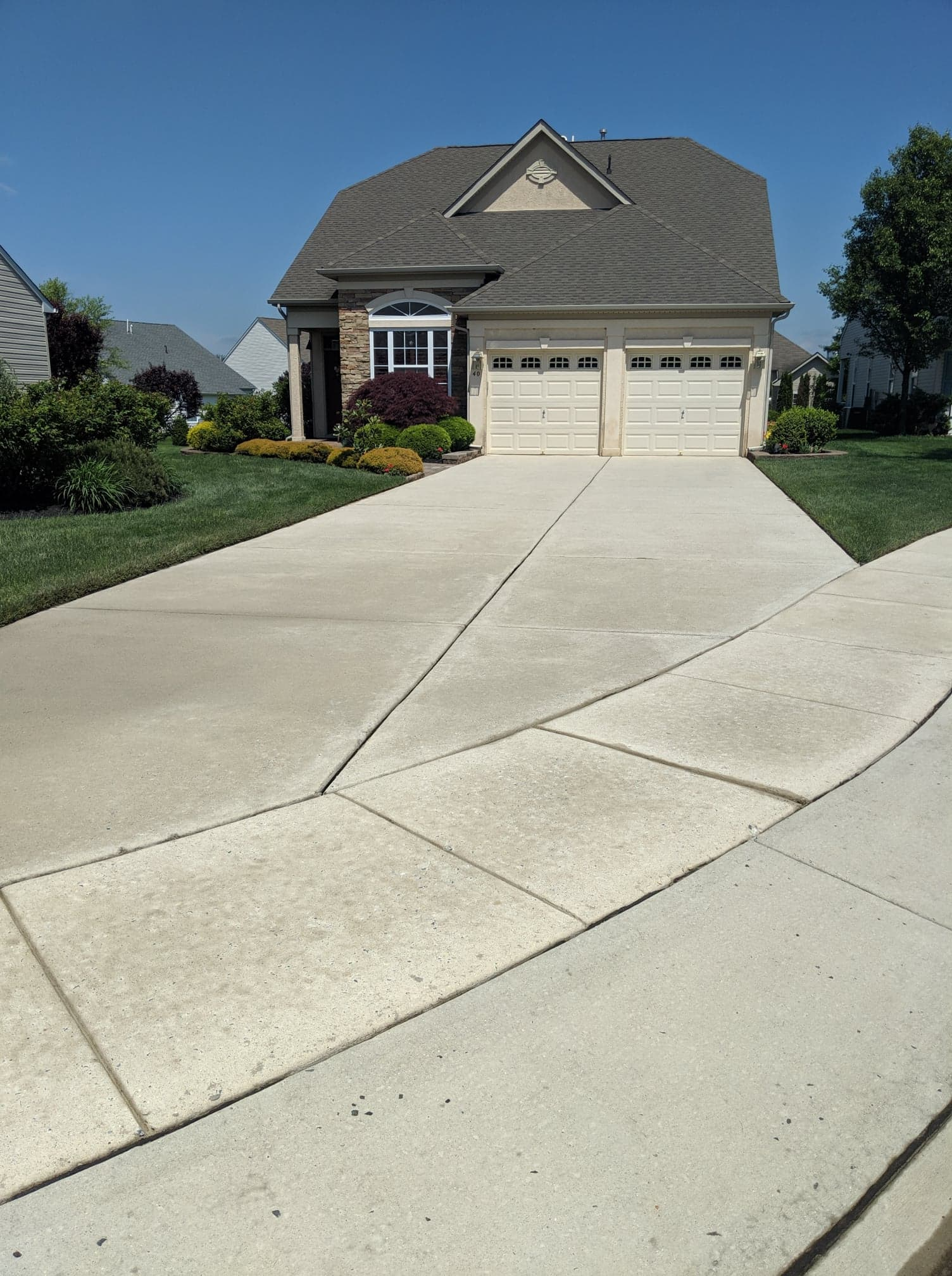 Power Washing Services driveway