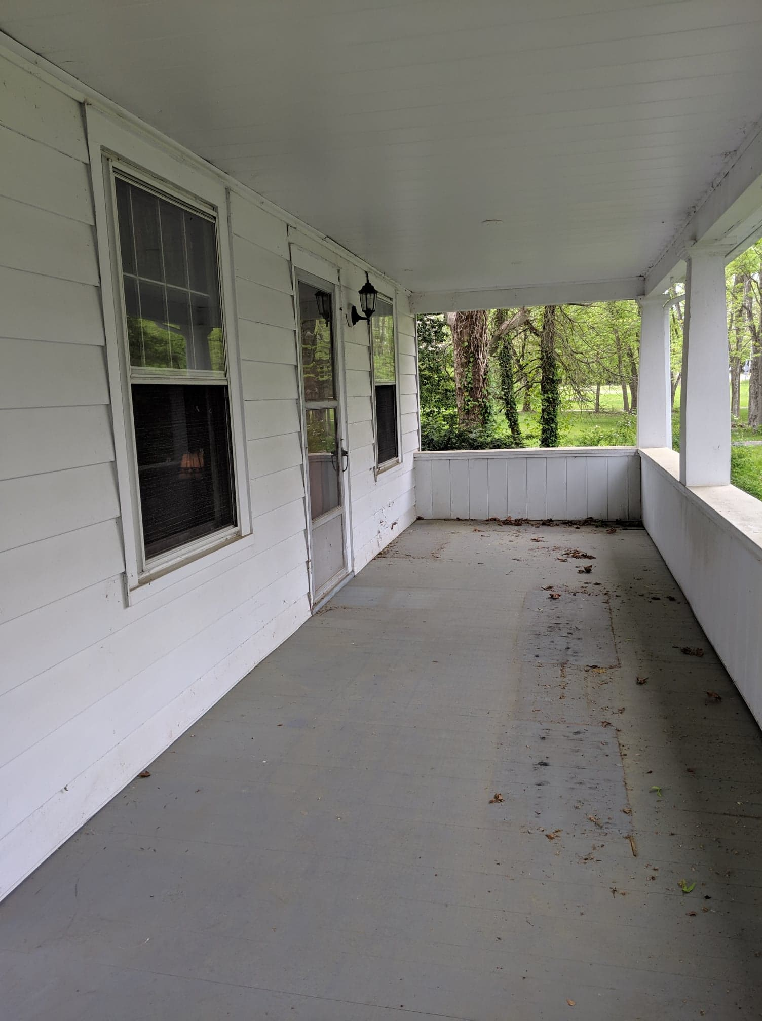 Power Washing Services front porch
