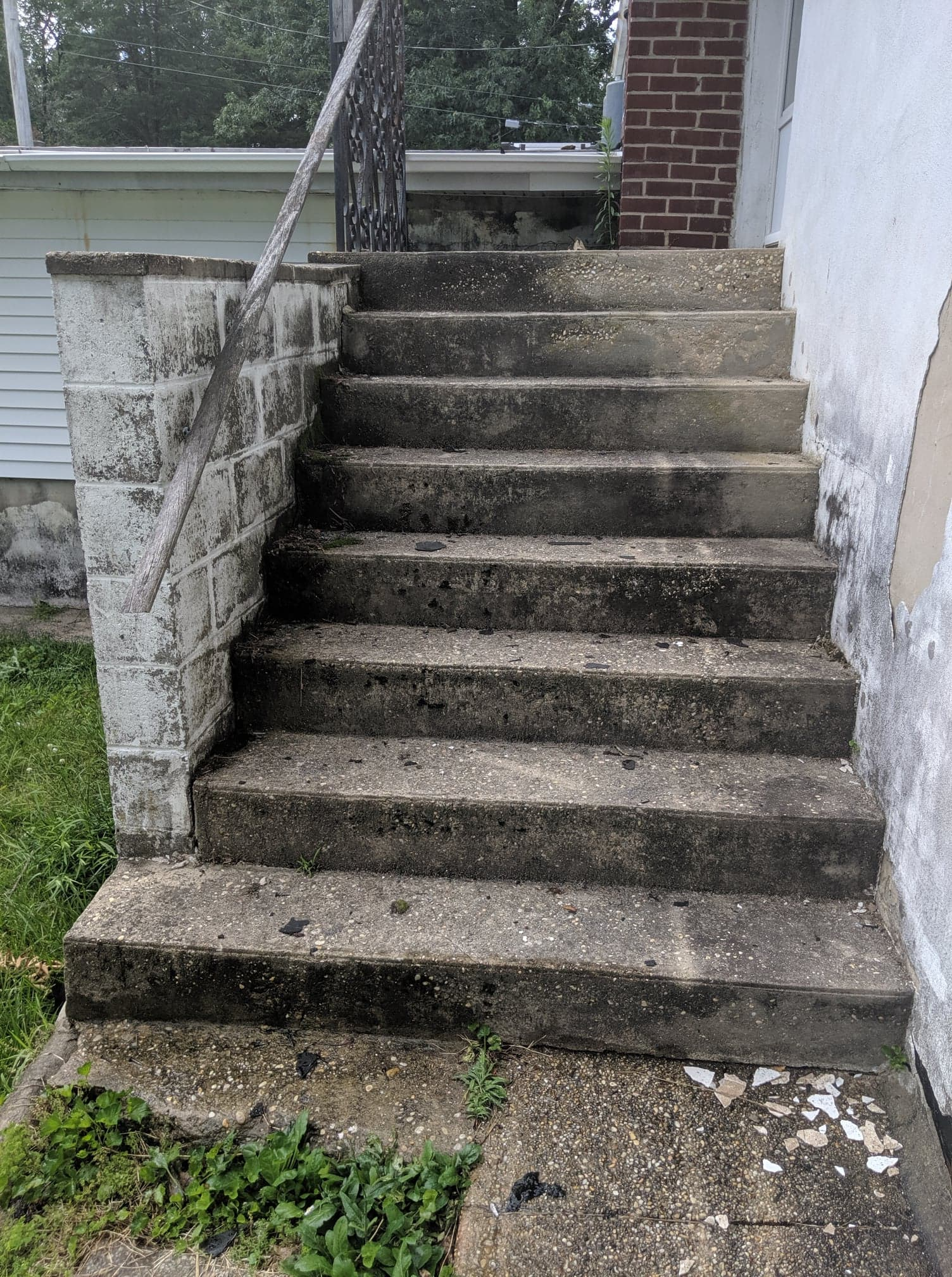 Power Washing Services Steps