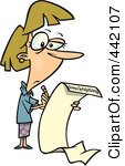442107-royalty-free-rf-clip-art-illustration-of-a-cartoon-woman-writing-a-long-list-of-resolutions