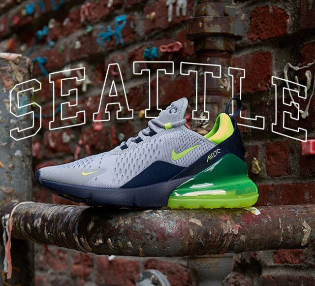These Air Max 270s Pay Homage to Seattle Sports BUZZSNKR