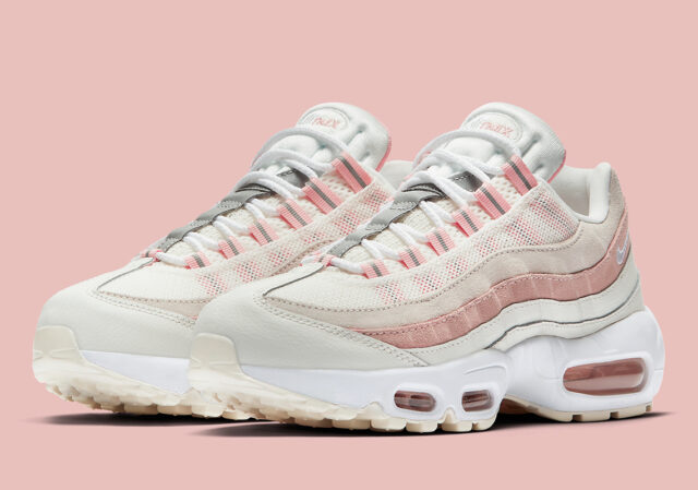 reputable site 61c6b 1506c Coming Soon: Nike WOMENS Air Max 95 Bleached Coral - BUZZSNKR