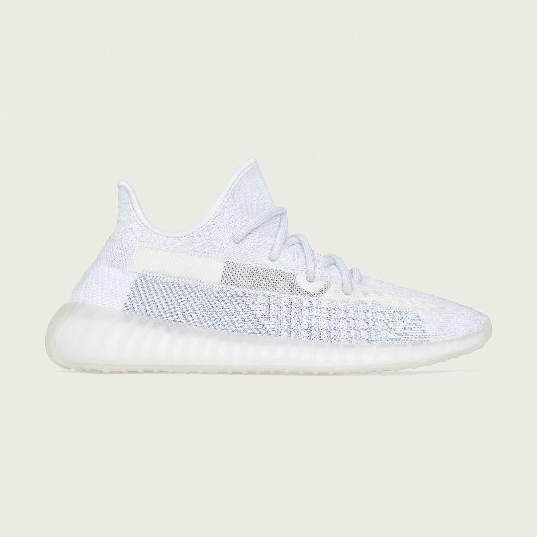 adidas YEEZY BOOST 350 V2 'Cloud White' Release Date | HYPEBEAST