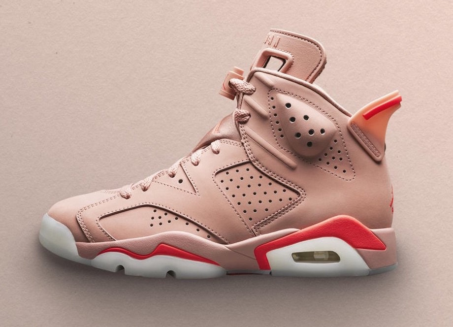Aleali May x Air Jordan 6 'Millennial Pink' CI0550 600