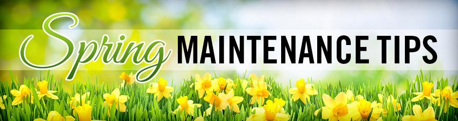 Home Maintenance To-Dos for Spring