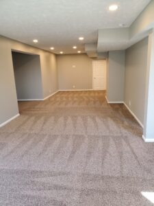 Basement Finishing After by Houston Remodeling Services