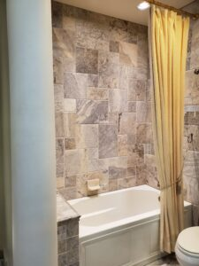 Complete Bathroom Remodel done by Houston Remodeling Services