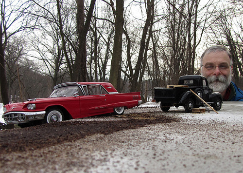Photographer Uses Forced Perspective On Toy Cars