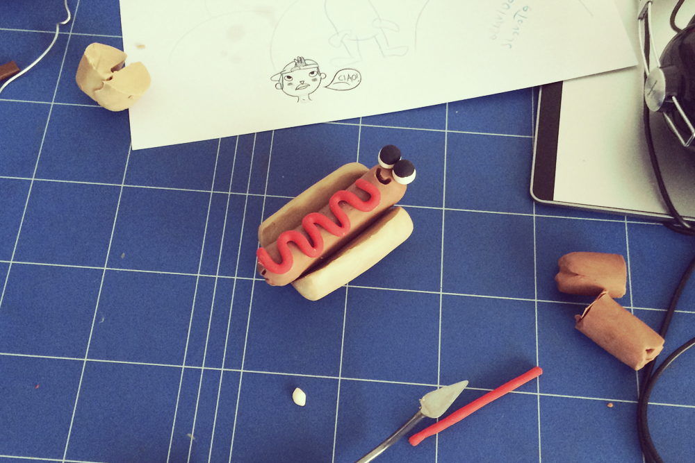 The Wonderful Clay Doodles of Stefano Colferai