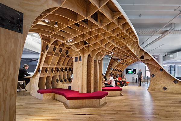 Clive Wilkinson Architects and the endless office
