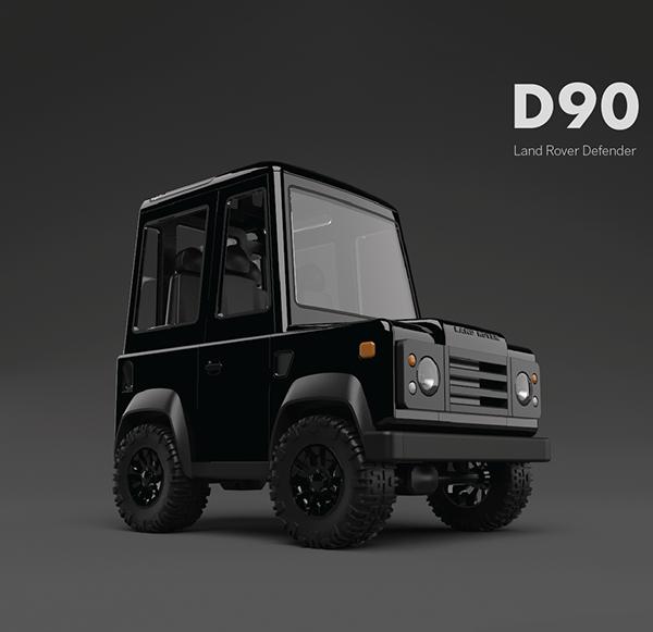 Box on wheels: Land Rover Defender