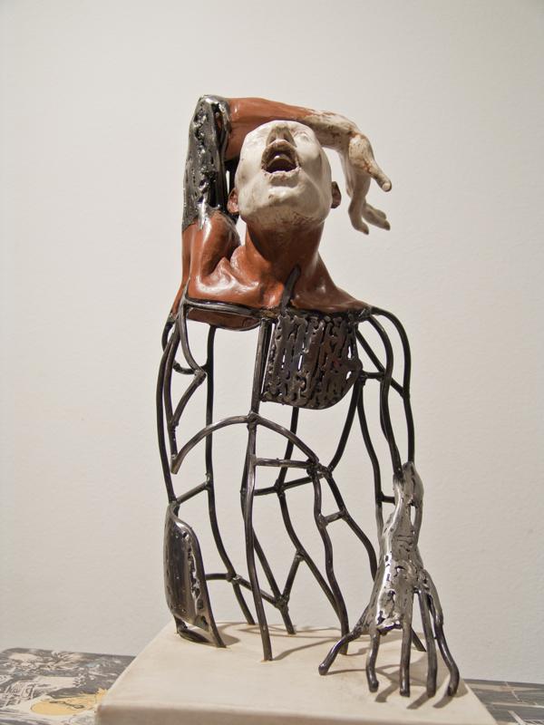 Pilot Sculpture by Stelios Sarros