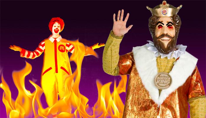 Burger King vs. McDonald's: A Royal Tragedy