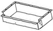 Recessed Vanity Tissue Box