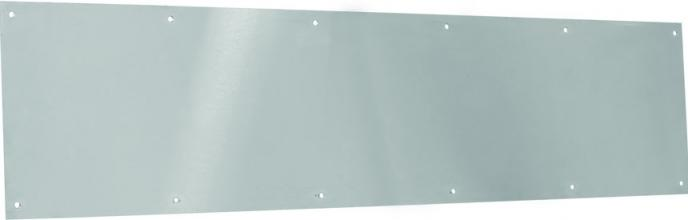 Stainless Steel Kick Plate With Screws