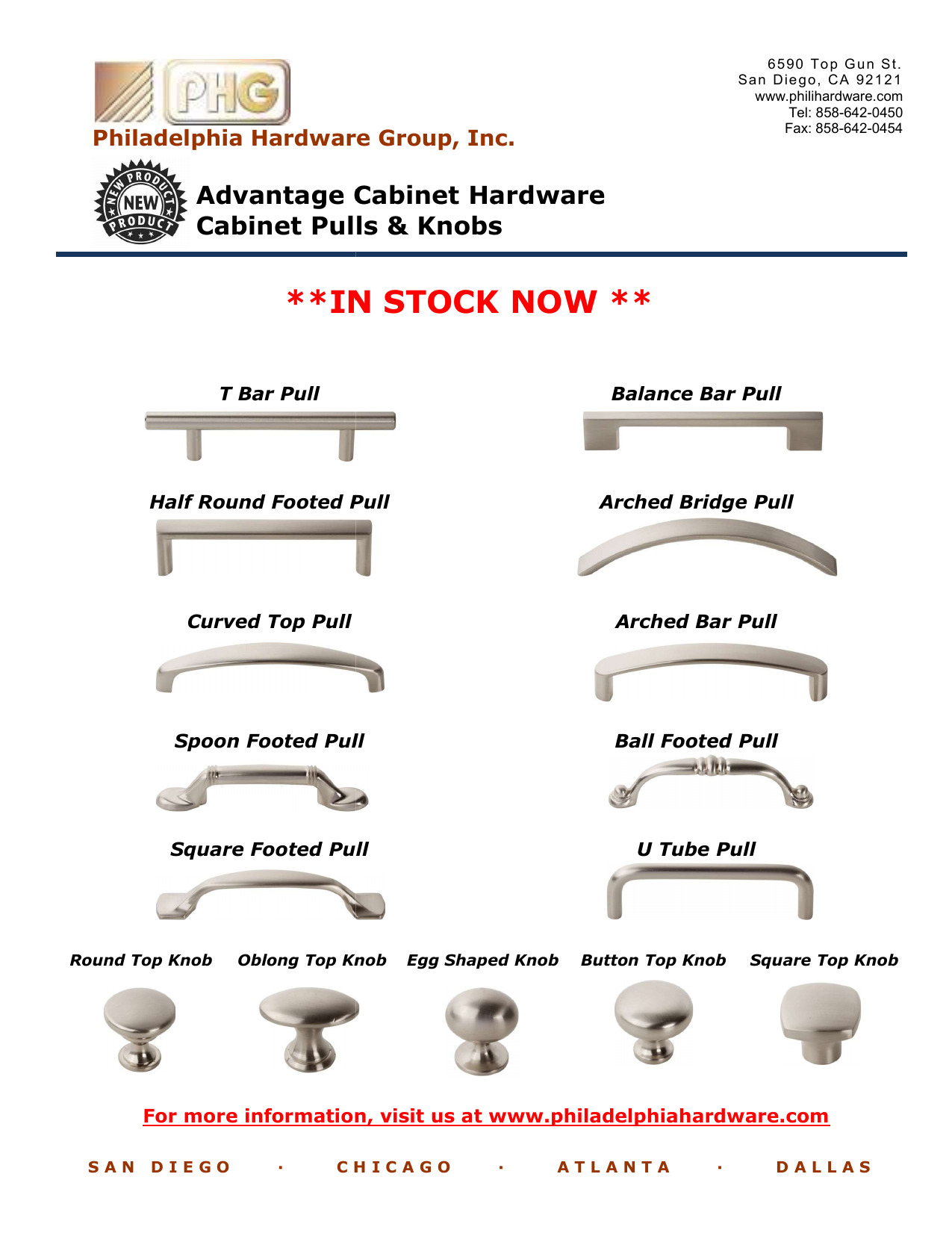 Advantage Cabinet Hardware