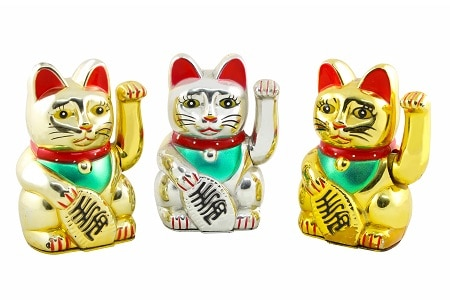 Maneki neko Japanese Cat