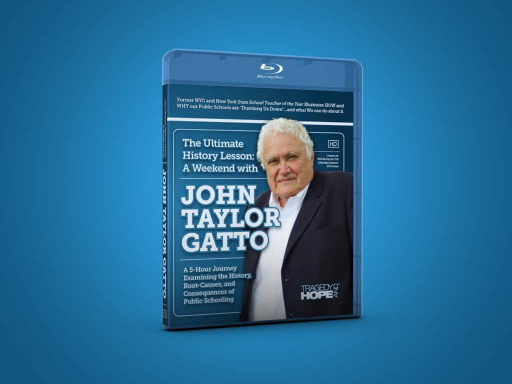 How & Why America was Dumbed Down to Create World Government: The ULTIMATE History Lesson w/ John Taylor Gatto