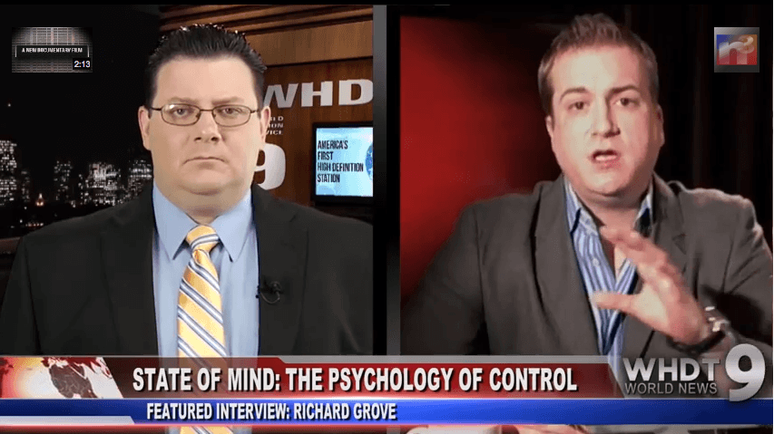 """Exclusive on """"The Psychology of Control"""": Richard Grove with Gary Franchi"""