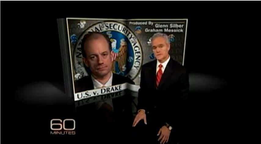 CBS 60 Minutes: NSA Whistleblower Thomas Drake Persecuted by Big Brother