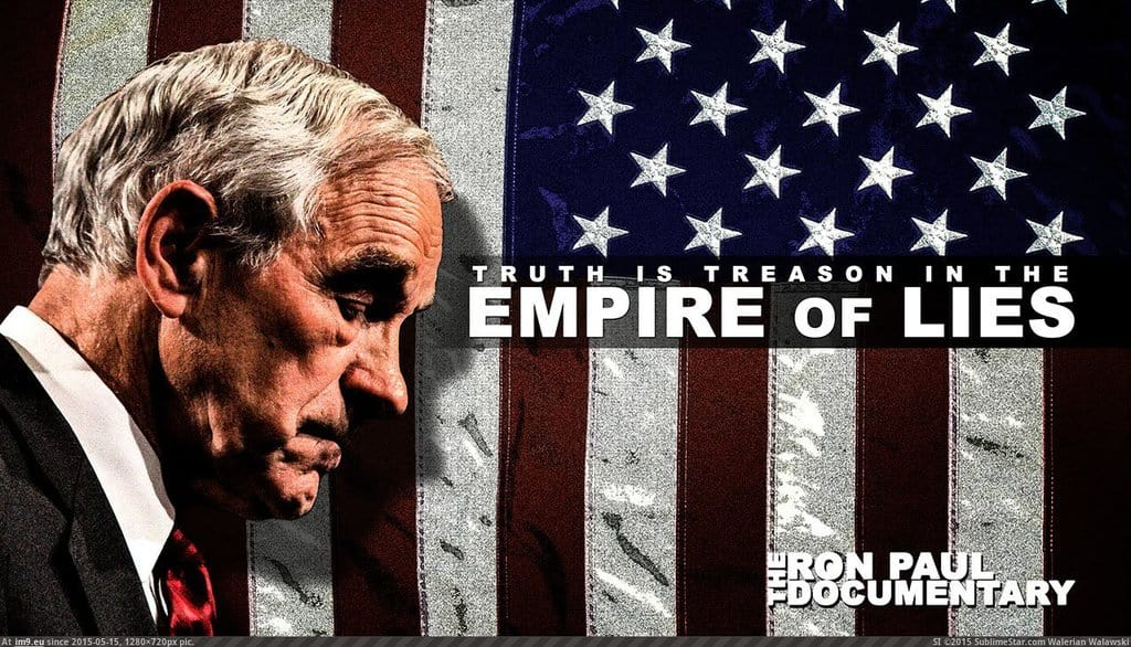 """""""Empire of LIES: The Ron Paul Documentary"""" / Interview with Charles Goyette"""
