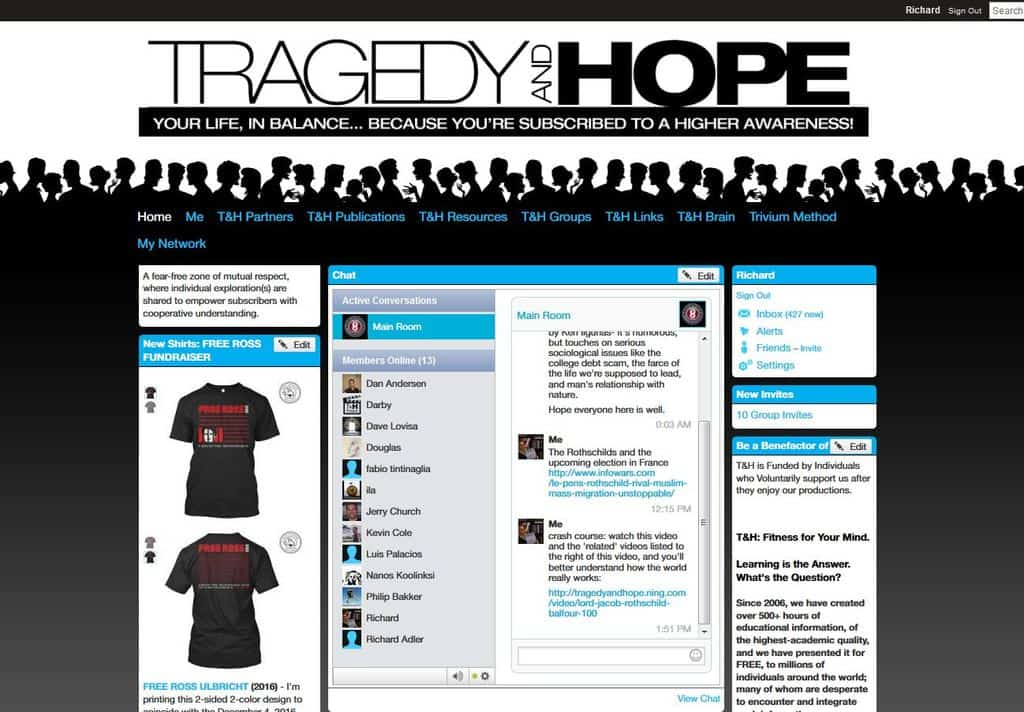 Tragedy and Hope Community