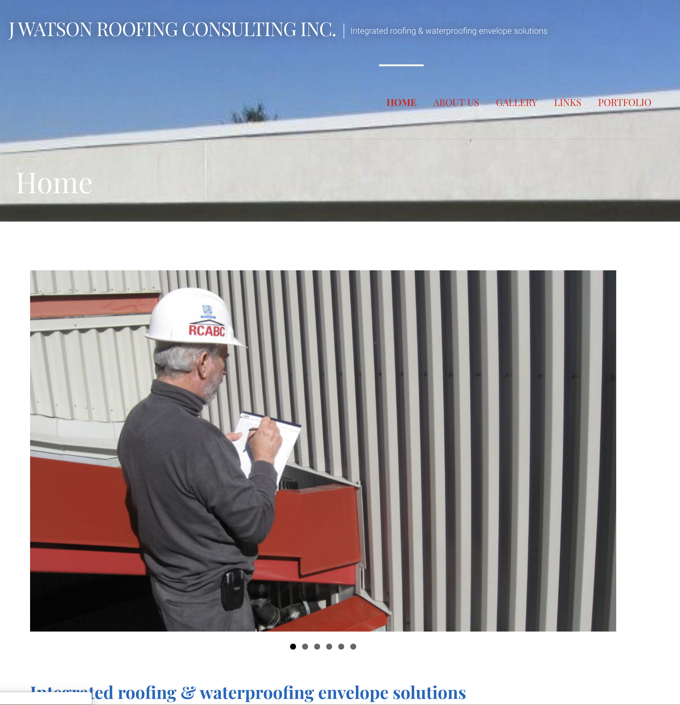 J WATSON ROOFING CONSULTING