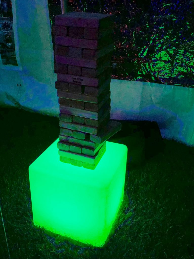 Giant LED Jenga