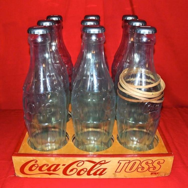 Coke Bottle Toss