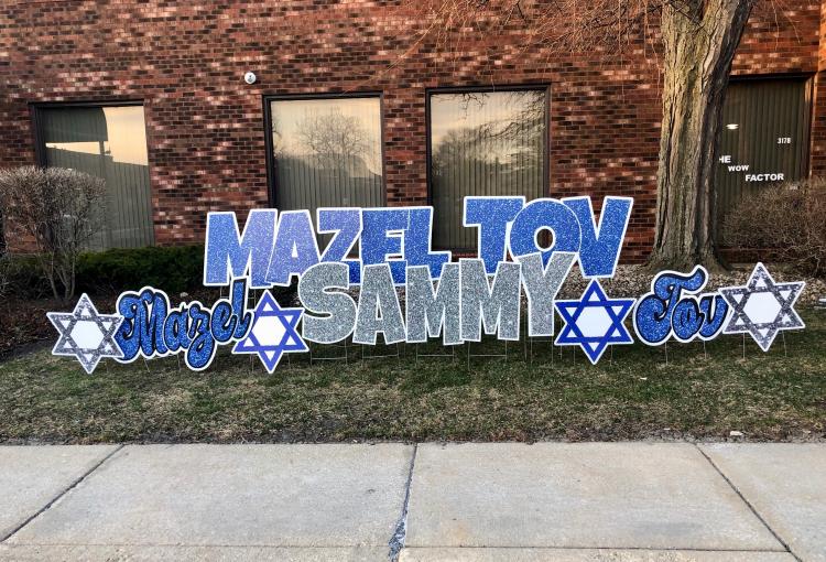 Bar Mitzvah-Mazel Tov