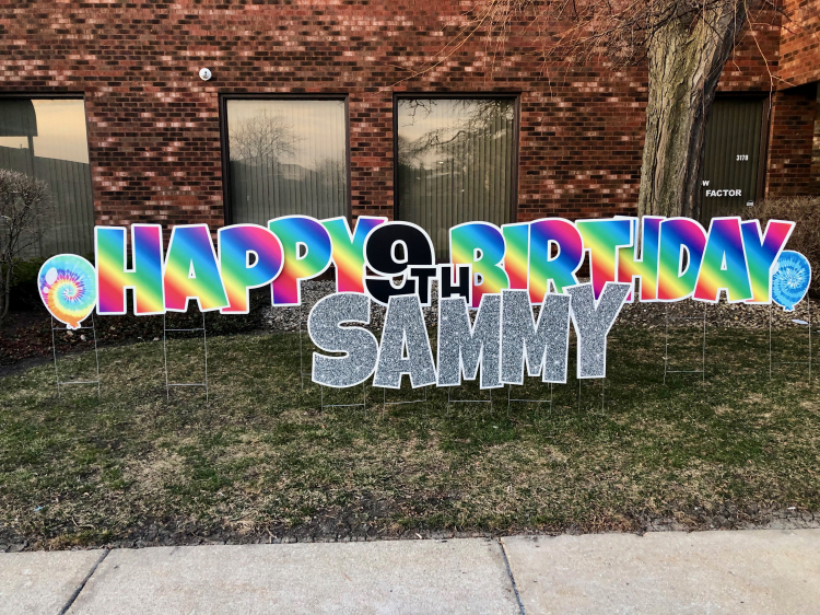 Happy Birthday-Rainbow