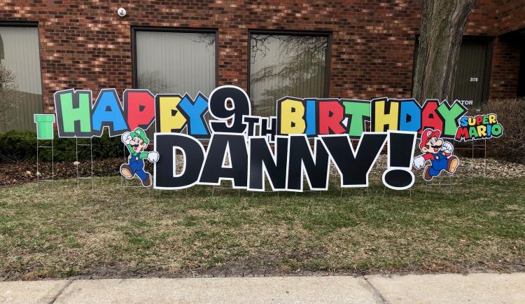 Happy Birthday-Super Mario Bros