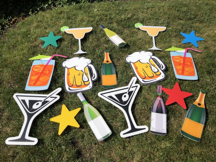 Flair Theme-Cheers/21st Birthday