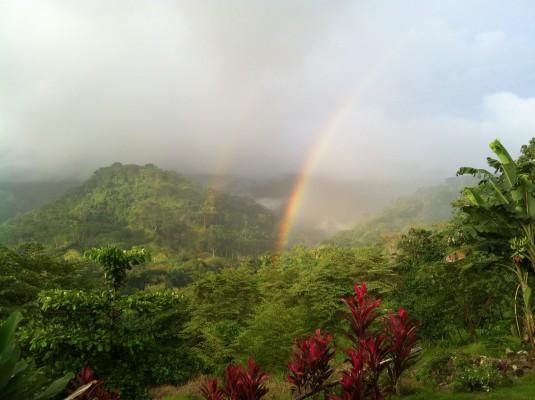 Rainbow costa rica villa casa
